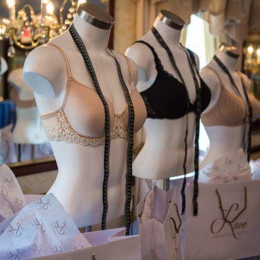 lingerie on mannequins