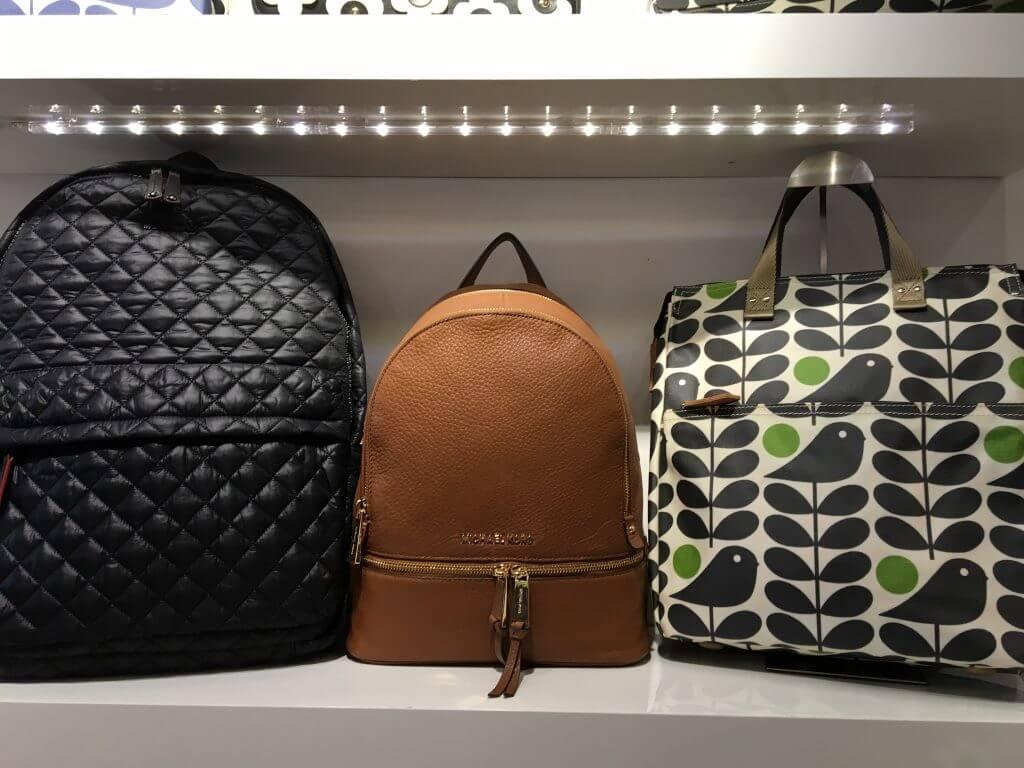 designer backpacks at Botari