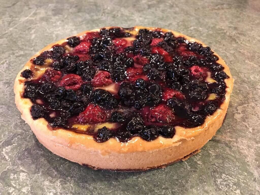 berry pie from Chez Alice