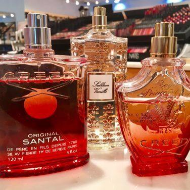 three perfumes