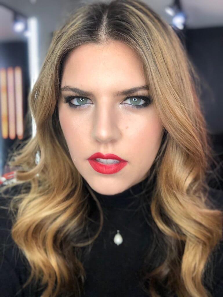 bold makeup look