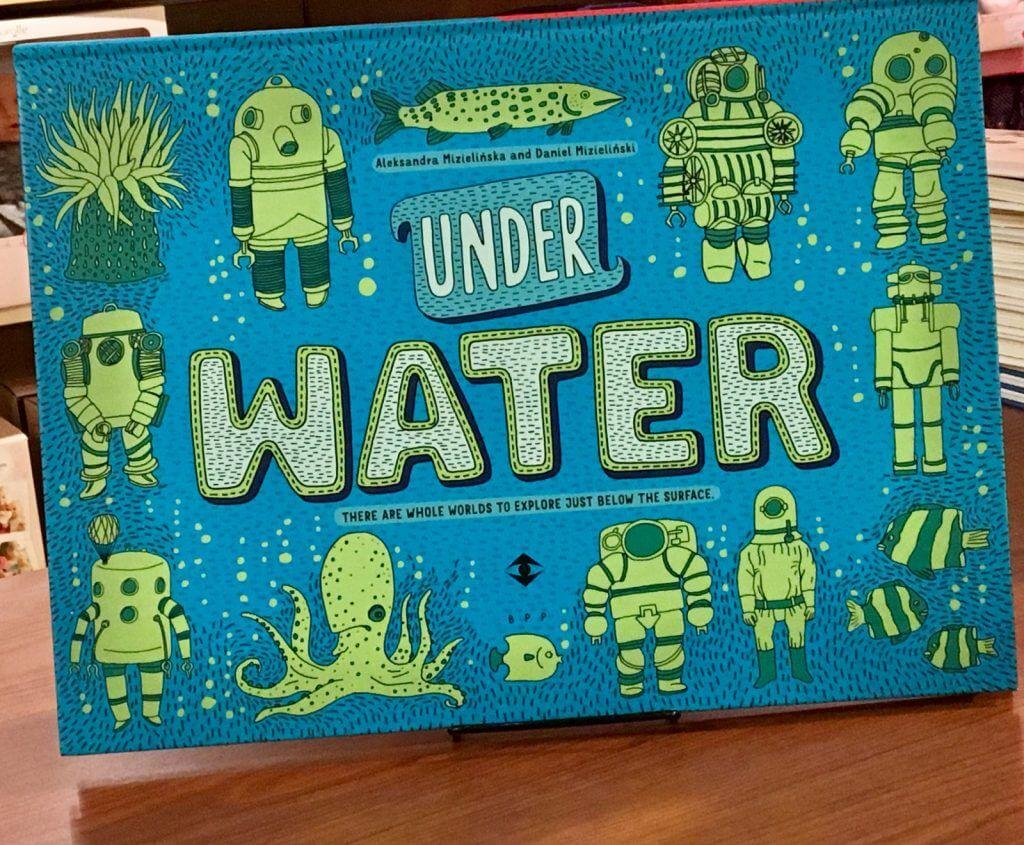 under water book